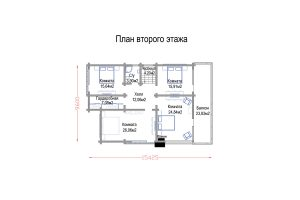 Проект дома «ОзерВейн»