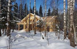 Очень много снега в этом году :)