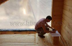 Окна  - один из сложнейших этапов. Подготовка к замерам.