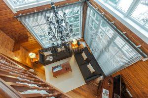 Фотографии интерьера дома из клееного бруса