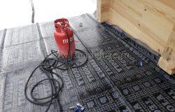 Дополнительная гидроизоляция ската с малым углом уклона.