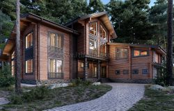 Дом из клееного бруса «ЭлинХаус»