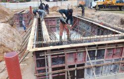 Бетон пошел! Вибрирование бетона.