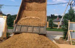 Песок для обратной засыпки.