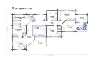 Проект дома «Абинск»