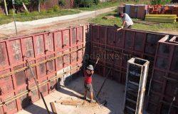 Дополнительное усиление и бетон.
