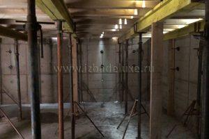 Устройство цокольного этажа дома «Зимняя сказка-19 с цокольным этажом».