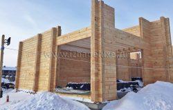 Проектом заложены высокие потолки.