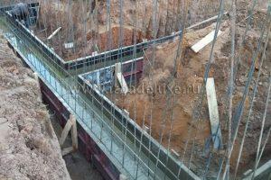 Началось строительство дома из клееного бруса «Сосновый берег-2».