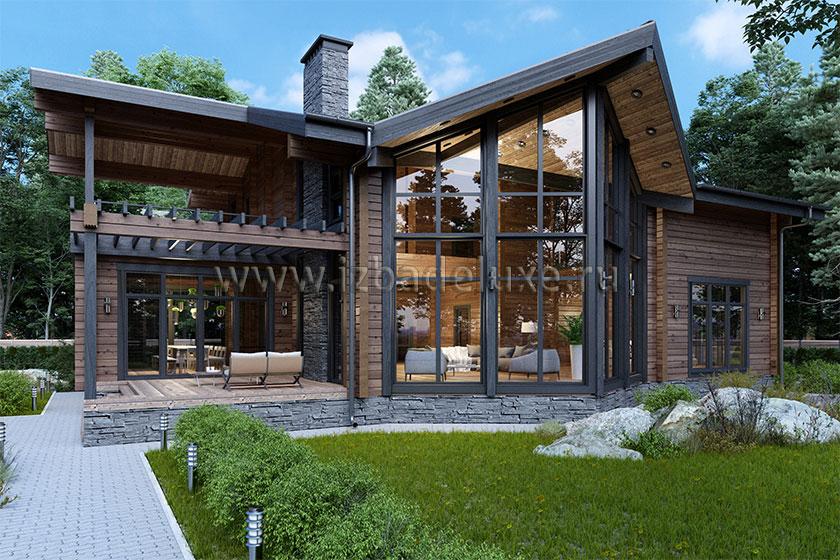 Проект дома «Ирбис»