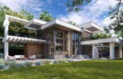 Дом из клееного бруса «Сантэлия»
