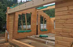 Балки усиления. Проект КД (конструкции деревянные) разработаны с учетом пролетов, нагрузок и т.д.