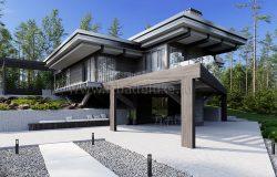 Дом из клееного бруса «Аватар»
